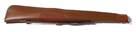 Croots Byland Leather Gun Slip with Zip